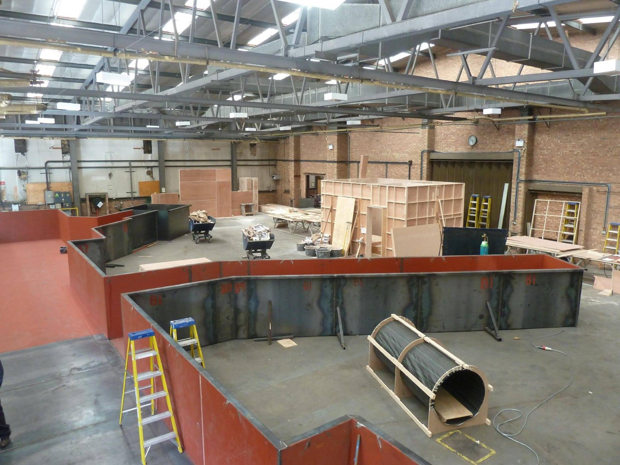 Fabrication for film set