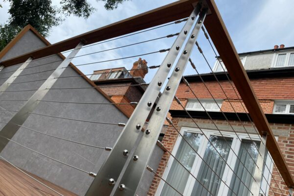 Steel Balustrade Close-Up
