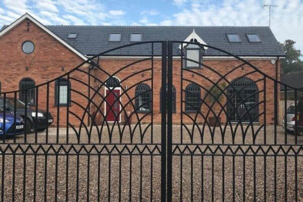 Steel Fabricated Driveway Gate