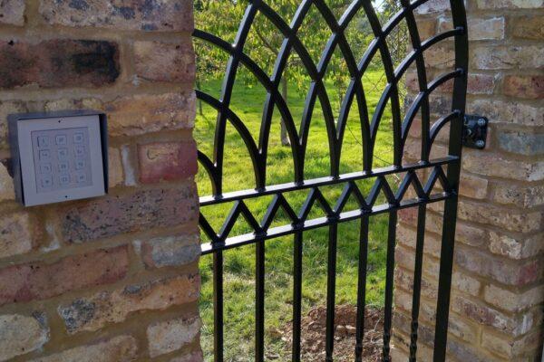 Steel Fabricated Gate
